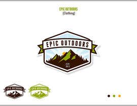 #17 para Design a Logo for  Epic Outdoors       (Clothing) por roman230005