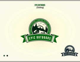 #28 para Design a Logo for  Epic Outdoors       (Clothing) por roman230005