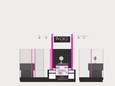 sevstokrator tarafından Design a Point of Sale Kiosk for a Jewelry brand mid-price için no 17