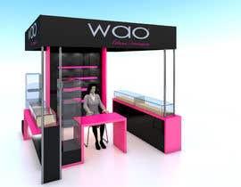 dfpizanoarquitec tarafından Design a Point of Sale Kiosk for a Jewelry brand mid-price için no 8