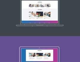 Nro 2 kilpailuun A landing page Mockup in Illustrator käyttäjältä manojkaninwal