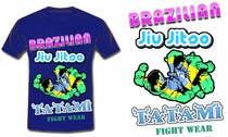T-shirt Design for Tatami Fightwear Ltd için Graphic Design8 No.lu Yarışma Girdisi