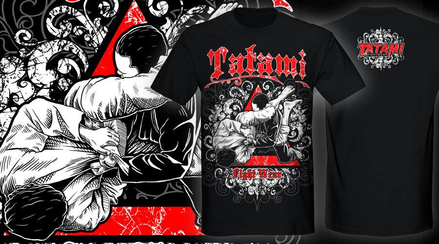 Contest Entry #26 for T-shirt Design for Tatami Fightwear Ltd