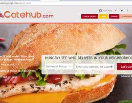 Nro 15 kilpailuun Design a Logo for a food portal website käyttäjältä zerographics