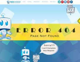 qasimriaz002 tarafından Develop a creative 404 page için no 19