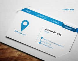 #63 for Design some Business Cards for findmeja.com af onlyyasad