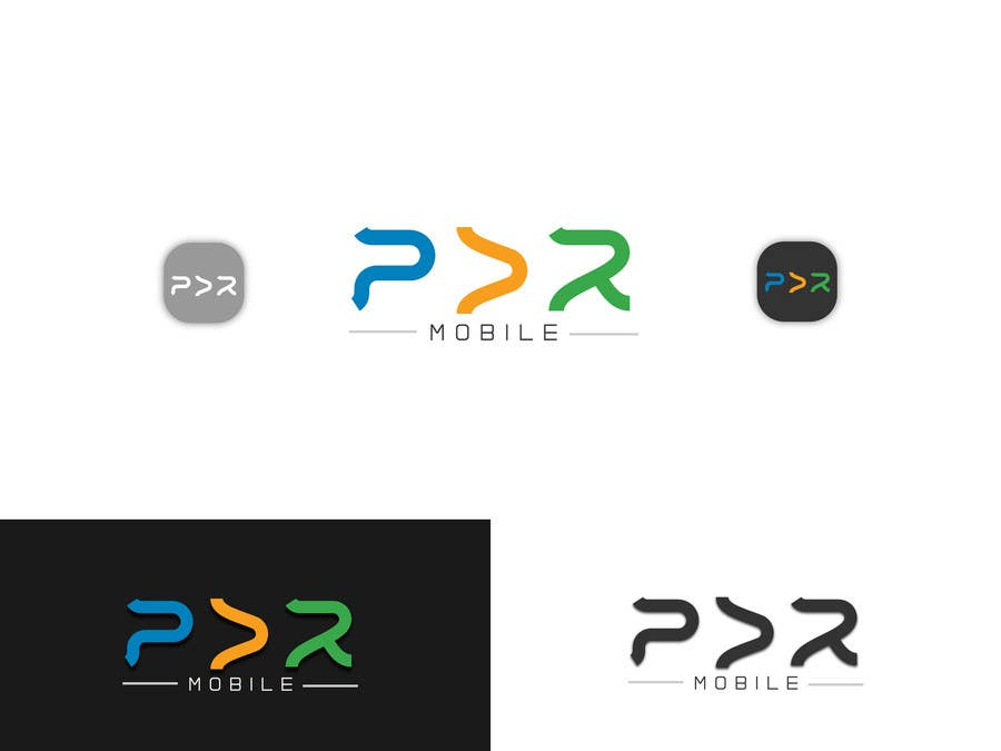 #112 for Design a Logo for PDR Mobile by johanmak