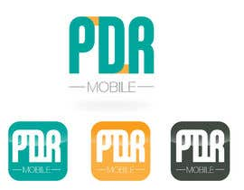 #130 for Design a Logo for PDR Mobile by carlosbatt