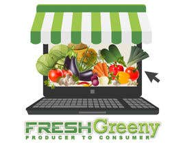 Nro 35 kilpailuun Design a Logo for our Vegetable shop käyttäjältä ELDJ7