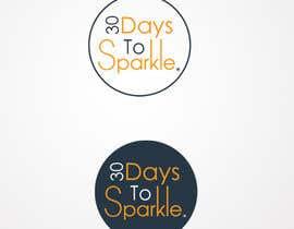 Nro 21 kilpailuun Design the '30 Days to Sparkle' Logo käyttäjältä pureprofession