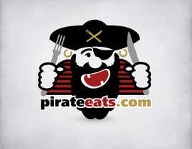 "nº 22 pour Design a Logo for ""Pirate"" themed food blog. Argggh! par wavyline"