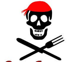 "nº 5 pour Design a Logo for ""Pirate"" themed food blog. Argggh! par SarahLee1021"