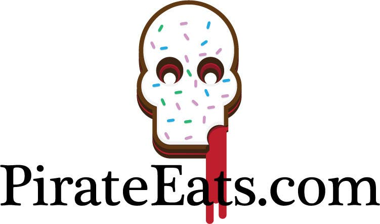 "#26 for Design a Logo for ""Pirate"" themed food blog. Argggh! by vectorlab"