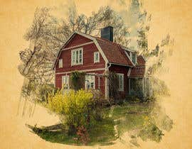 #7 for Design a picture with a typical Swedish house and surroundings by STARK2016