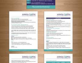 Nro 16 kilpailuun Design a Brochure -- 2 käyttäjältä teAmGrafic