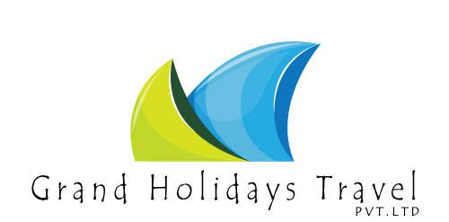 #5 for Design a Logo for travel company 'Grand Holidays Travel Pvt. Ltd.' by nextstep789123