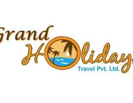 #46 untuk Design a Logo for travel company 'Grand Holidays Travel Pvt. Ltd.' oleh smahsan11