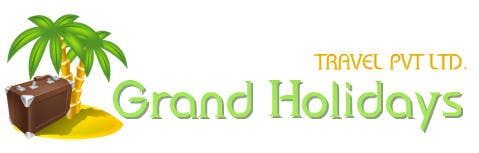 #2 for Design a Logo for travel company 'Grand Holidays Travel Pvt. Ltd.' by weaarthebest