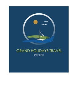 #12 for Design a Logo for travel company 'Grand Holidays Travel Pvt. Ltd.' by VikiFil