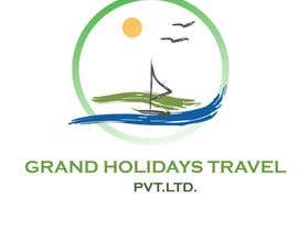 #13 para Design a Logo for travel company 'Grand Holidays Travel Pvt. Ltd.' por VikiFil