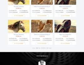 Nro 41 kilpailuun Design a horse searching website käyttäjältä phamtech211