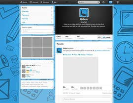 #2 untuk Design a Twitter background for oleh annahavana