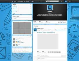 Nro 2 kilpailuun Design a Twitter background for käyttäjältä annahavana