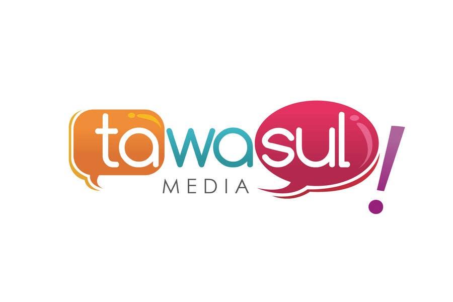 Kilpailutyö #238 kilpailussa Logo Design for Tawasul Media