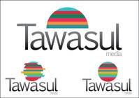 Graphic Design Kilpailutyö #46 kilpailuun Logo Design for Tawasul Media