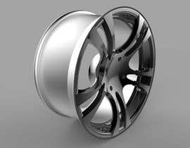 #118 for 5 SPOKE CAR RIM OR WHEEL DESIGN by handras88