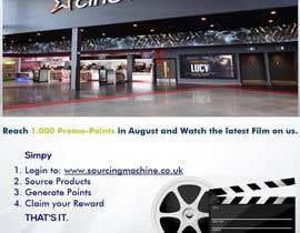 Nro 11 kilpailuun Design a Flyer- Watch the latest film on us email flyer design käyttäjältä nerimancebir