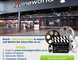 Nro 7 kilpailuun Design a Flyer- Watch the latest film on us email flyer design käyttäjältä Biayi81