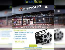 Nro 3 kilpailuun Design a Flyer- Watch the latest film on us email flyer design käyttäjältä mdmirazbd2015