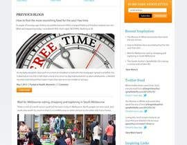 Nro 10 kilpailuun Design a Website Mockup for Wordpress käyttäjältä grapaa