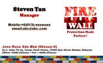 Contest Entry #16 for Design some Business Cards for firewall