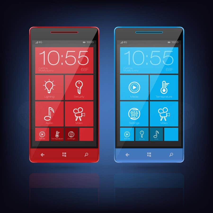 Kilpailutyö #6 kilpailussa Design some Icons for smartphone app tiles