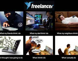 #45 untuk Graphic Design for What a Freelancer does! oleh MladenDjukic