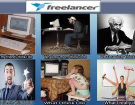 #37 для Graphic Design for What a Freelancer does! от syedmiraj