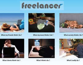 #112 untuk Graphic Design for What a Freelancer does! oleh fightershrief
