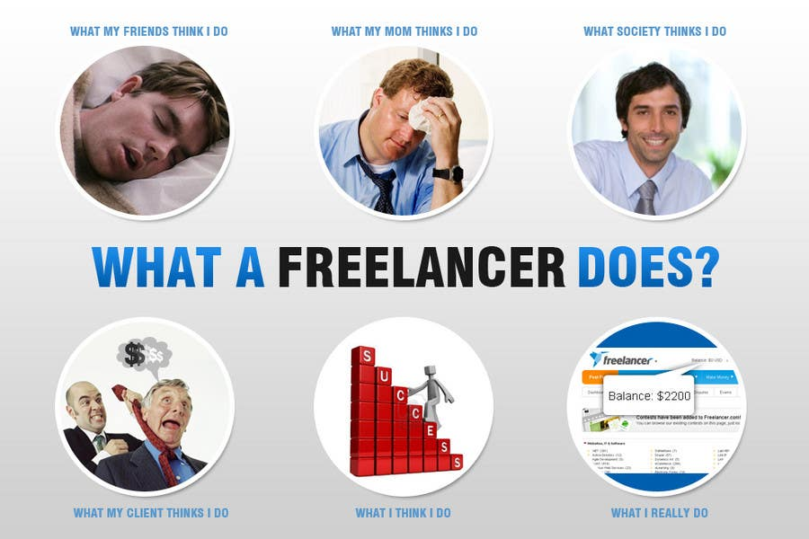Конкурсная заявка №119 для Graphic Design for What a Freelancer does!