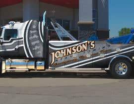 Nro 39 kilpailuun Tow Truck Wrap Design käyttäjältä hereticlohani
