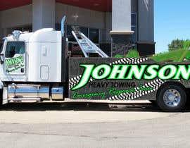 Nro 3 kilpailuun Tow Truck Wrap Design käyttäjältä alexandrtovmach