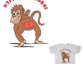 #20 for Design a T-Shirt with a funny monkey theme. af adelinaiacob
