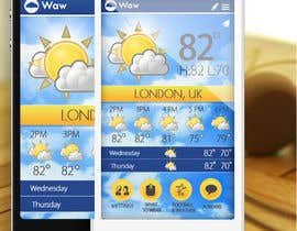 #25 untuk I need some Graphic Design for a Weather Applicaiton oleh MagicalDesigner