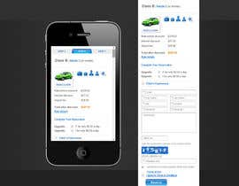 "#3 untuk Design a Website Mockup for Car Rental ""MOBILE ONLY"" oleh theinspiredart"