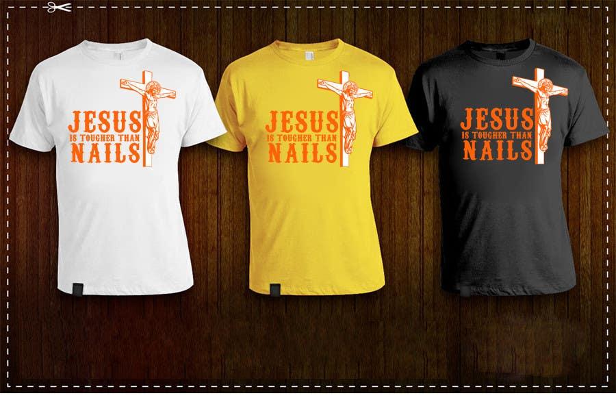 Kilpailutyö #19 kilpailussa Design a T-Shirt for tougher than nails