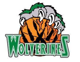 Nro 7 kilpailuun Design a logo for the Wolverines childrens basketball team käyttäjältä potestadjonhel