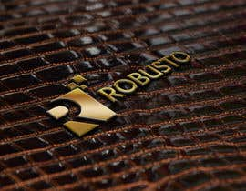 #30 for ROBUSTO logo design and metalic paint label design af graphics8