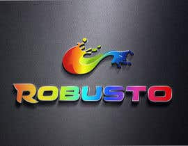 #103 untuk ROBUSTO logo design and metalic paint label design oleh alkalifi
