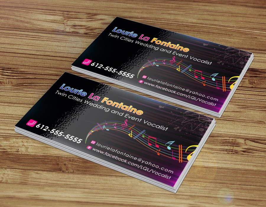 Entry 35 by sabbir92 for design some business cards for event contest entry 35 for design some business cards for event vocalist reheart Image collections